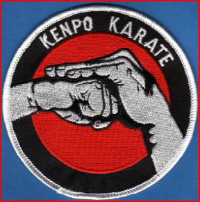Kenpo Karate Embroidered Badge