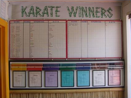 Karate Winners